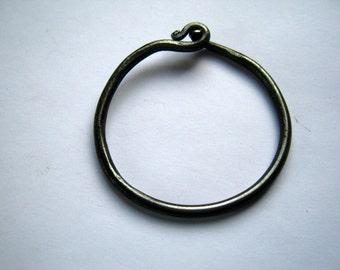 Key Ring, forged Iron, Reenactment, LARP, Renaissance Fair,