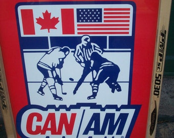 CanAm Hockey tournament Poster