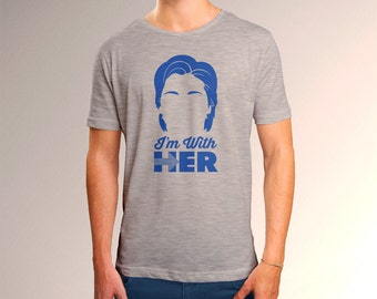 Hillary Clinton I'm With Her Men's T-Shirt