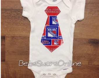 New York Rangers Boys Bodysuit or Toddler Shirt