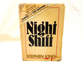 Night Shift by Stephen King 1978 Hardcover Book Club Edition