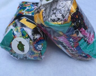 Pet-Themed Prints / Solids Fabric Scrap Pack