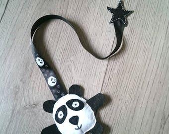 Panda star bookmark