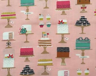 custom bandana bib ~ pink sweet cakes ~  drool bib ~ chic couture ~ baby accessories ~ custom bandana bib from lillybelle designs