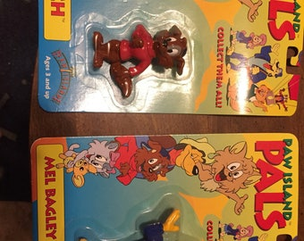 Paw Island Pals 2 Sealed in Package Butch and Mel Bagley Free Shipping