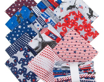 Brave & Free Fat Quarter Bundle by Whistler Studios for Windham Fabrics