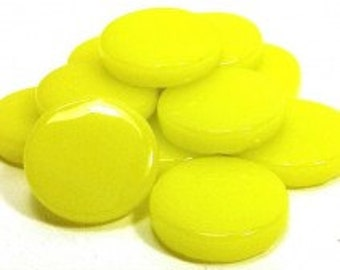 18mm Round Gloss - Citron Gloss- 50g