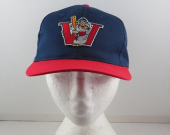 Winnipeg Goldeyes Hat (VTG) - Patched Two Tone by Starter - Adult Snapback