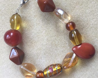 Men's Amber Honey Bracelet