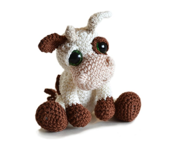 Amigurumi Cow Crochet Pattern Pdf Instant Download Mable From