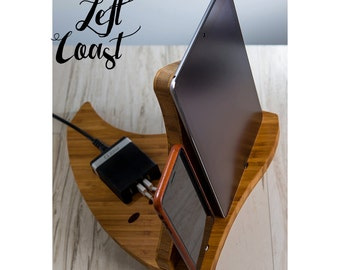 Charging Station Dock iPhone iPad Stand Android Mother Father Her  Women Wedding Bride Groom  The Sailing Smartphone Dock