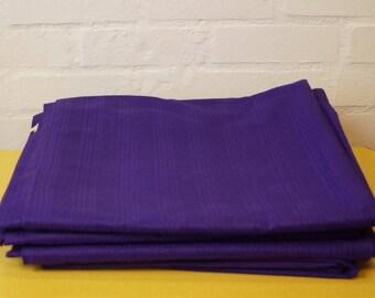 Vintage purple curtain fabric