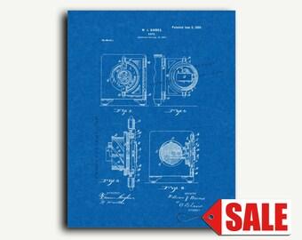 Patent Print - Safe Patent Wall Art Poster