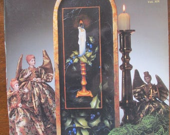 The Decorative Painter magazine  1991 Issue 5  Vol XIX back issue 88 pages good used magazine