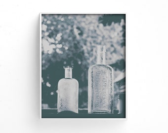 "digital art prints, instant download art, printable wall art, black and white, minimalist, modern, large wall art - ""Chamberlain's Remedy"""