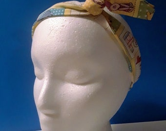 Adult Vintage/Retro Wire Headband (Disney, Harry Potter, Star Trek, etc.)