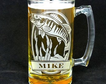 Fish Beer Stein