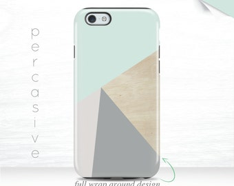 iPhone 6s Case Geometric iPhone 6 plus Case Abstract Geo Wood Print iPhone 5s Case Triangle iPhone 5c Case Grey iPhone 6 Cover iPhone 7  01b