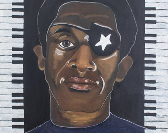 James Booker an Original Painting