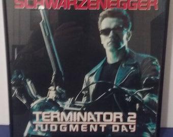 Framed - Terminator 2 - Judgement Day - Circa 1991 - Wall Art!