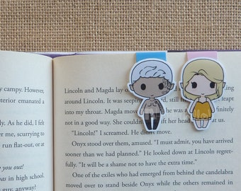 Magnetic Bookmarks • The Golden Nightgown