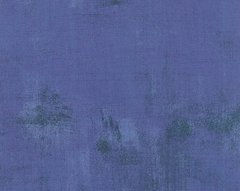 Periwinkle Grunge by Basic Grey Moda half yard New Color