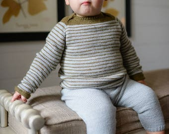 make your own Baby Tee (DIGITAL KNITTING PATTERN) sized preemie to 4 years