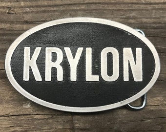 Krylon, Graffiti, Spray Paint, Belt Buckle, Etched Metal, Tag, Tagging, Urban, Buckle