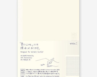 Midori MD Notebook - 10th Anniversary Edition - A5 - Oversized Grid