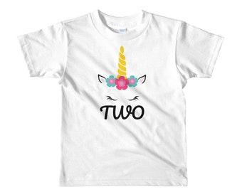 2nd Birthday Short sleeve girls t-shirt