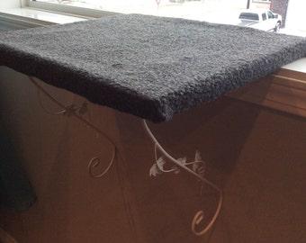 Cat bed,cat perch, cat hammock, cat window perch, cat window seat, made in Canada