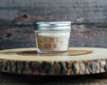 Blueberry Mint - Scented Soy Candle 3oz