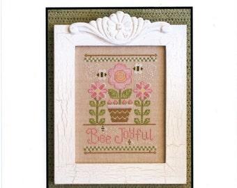 Country Cottage Needlework: Bee Joyful - Cross Stitch Pattern