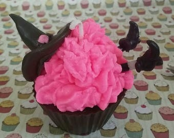 Halloween  Themed 4 oz Cupcake Candle Soy Wax