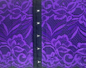 Women's Holster - Purple Textured Lace Concealed Carry Option