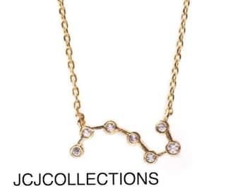 Constellation Necklace, Crystal Necklace
