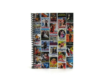 Italian Movies Posters A5 Notebook