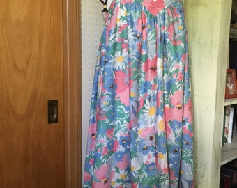Vintage Homemade Summer Dress