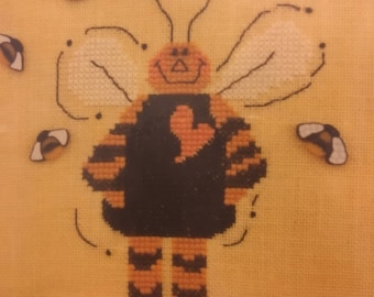 Bee Happy- counted cross stitch kit