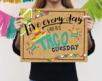 Taco Party Sign, Taco Party Backdrop, Fiesta Engagement Party Sign, Cinco De Mayo Printable, Fiesta Party Sign, Fiesta Table Backdrop