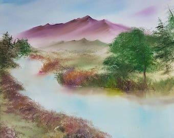 Original Landscape Oil Painting - Ben Gulch Artwork *SALE*
