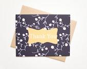 Thank You Card, Handmade ...