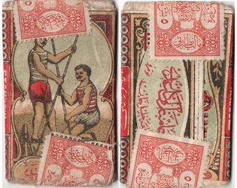 Papier Djambaz - Old Ottoman Cigarette Rolling Papers 1916.