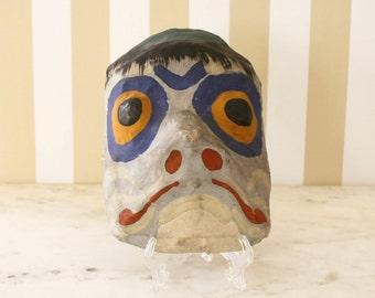 Vintage Paper Mache Mask