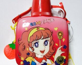 Magical Girl Lalabel - 80's vintage plastic water bottle