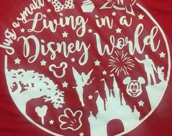 Just a small town girl Disney shirt