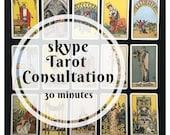 30 minute Skype Tarot Con...