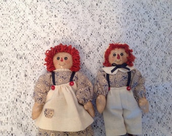 """Raggedy Ann and/or Andy - 5"""""""