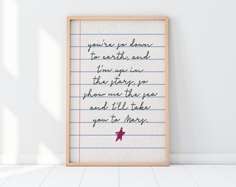 Nursery Poem|Nursery Prints|Nursery Poster|Extra Large Wall Art|Wedding Poem Poster|Master Bedroom Poster|Master Bedroom Decor|Nursery Decor