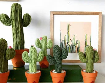 Crochet Cactus Cacti